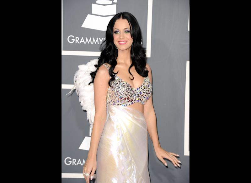 Singer Katy Perry arrives at The 53rd Annual GRAMMY Awards held at Staples Center on February 13, 2011 in Los Angeles, California. (Photo by Jason Merritt/Getty Images)