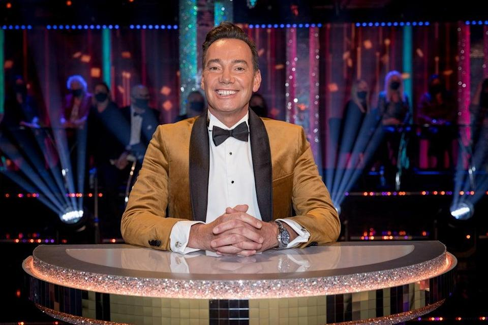 Craig Revel Horwood on the Strictly Come Dancing judging panel (Guy Levy/BBC/PA) (PA Media)