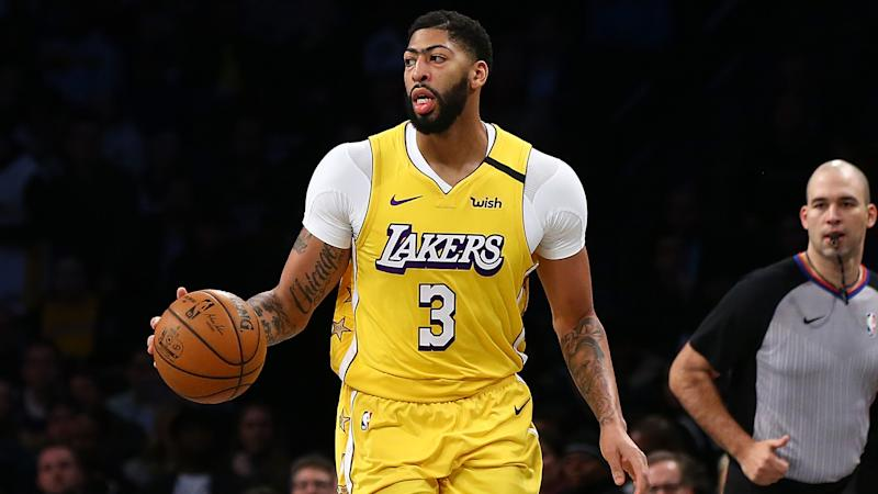 Anthony Davis says Lakers' chances of NBA title higher after break