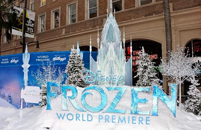 The premiere of Disney's 'Frozen' at the El Capitan Theatre on November 19, 2013 in Hollywood, California (AFP Photo/Frazer Harrison)