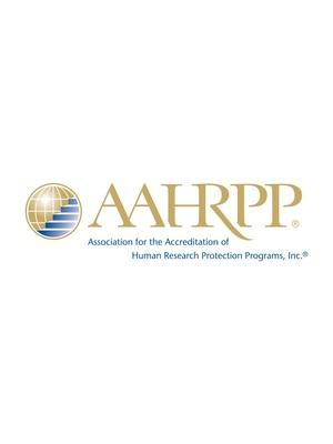 AAHRPP: Setting Global Standards in Human Research Protections (PRNewsfoto/Association for the Accreditati)