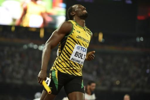Bolt wins world treble with relay gold