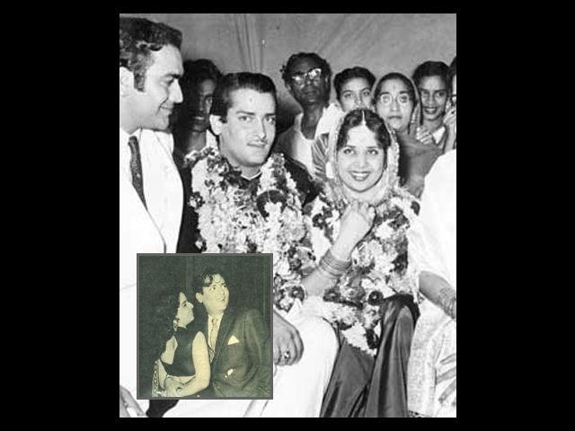 <b>Geeta Bali and Shammi Kapoor</b><br><br>Geeta Bali and Shammi Kapoor fell in love on the sets of Rangeen Raaten, while on an outdoor shoot in Ranikhet, Uttarakhand. Though the two were head-over-heels for each other, but there was a lot of confusion in their love story. Geeta was a year older to Shammi, and was also the sole provider for her own family. And the two stars also feared how the Kapoor family would react to this affair. So, Geeta Bali decided not to reciprocate Shammi's feelings, openly.