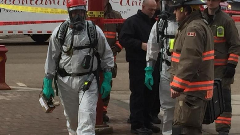Two locations in latest white powder scare also targeted in November