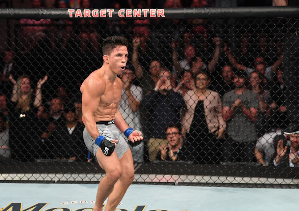 Joseph Benavidez and Deiveson Figueirdo will step into the octagon in February with the 125-pound flyweight title on the line.