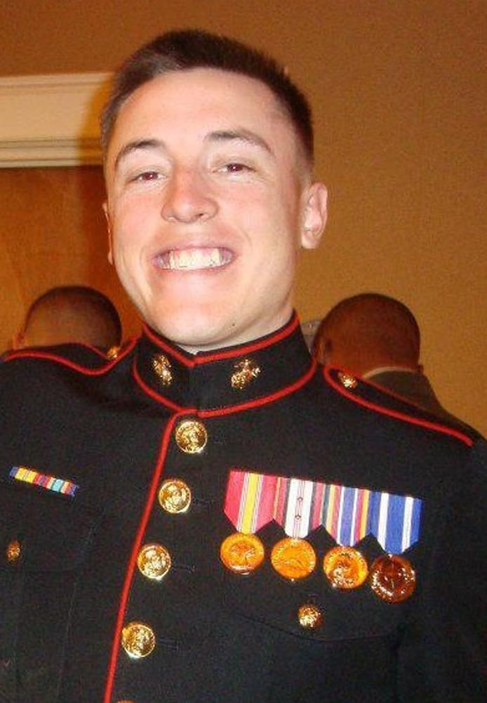 This undated photo provided by the U.S. Marines shows Lance Cpl. William T. Wild IV, of Anne Arundel, Md. Wild, 21, was killed with six other Marines in an explosion during a Nevada training exercise on Monday, March 18, 2013. (AP Photo/U.S. Marines)