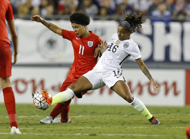 USWNT earns tough 1-0 win against England in SheBelieves Cup