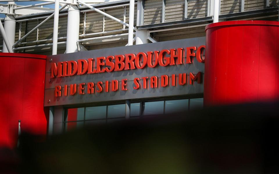Middlesbrough pursuing legal case against Derby over alleged financial breaches despite 12-point deduction - CAMERASPORT VIA GETTY IMAGES