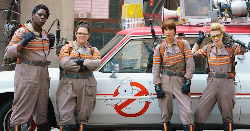 Ghostbusters stars dismiss 'stupid' criticism of all-female reboot
