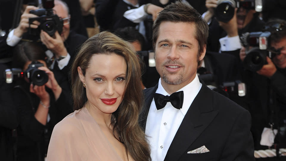Brad Pitt Isn't 'Angry' at His Girlfriend For Her Comment Shading Angelina  Jolie