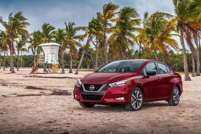 <p>The 2020 Versa will align better with its top competitors now, thanks to several technology upgrades. Every model now has push-button start with passive entry, so the days of fumbling with your keys to lock or unlock the doors and turn the car on or off are over.</p>