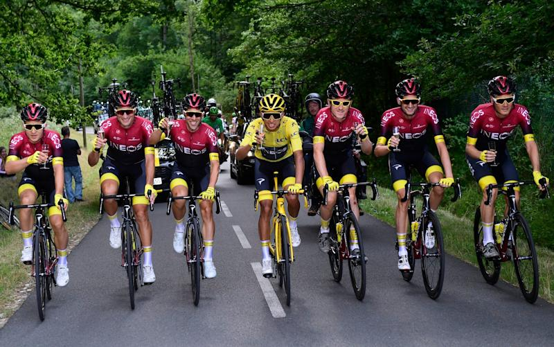 Ineos will once again be the team to beat at the Tour de France, but who will lead their team? - Getty Images Contributor