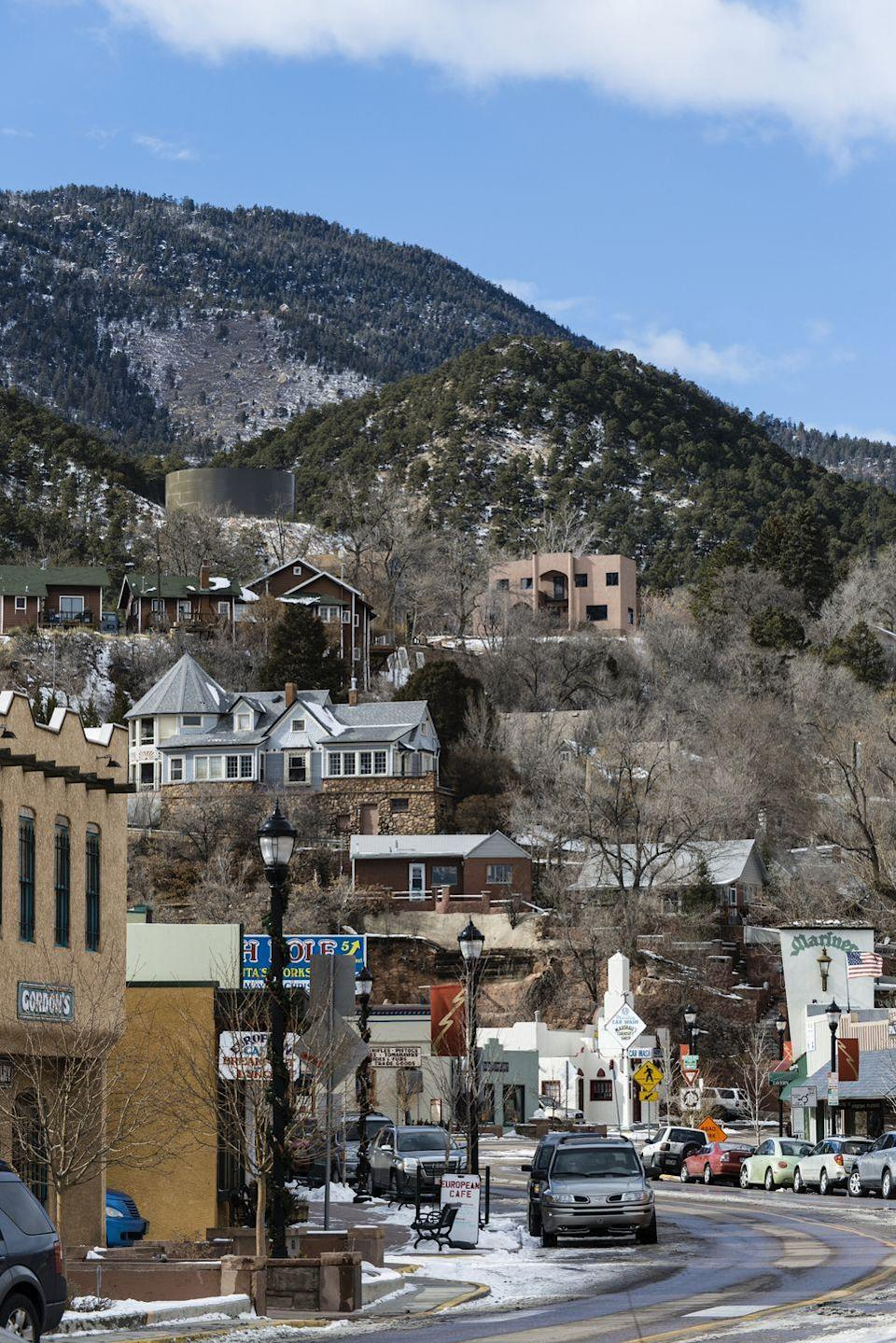 <p>Manitou Springs is just a quick trip away from Colorado Springs and is everything you'd want in a quaint mountain town. When you're not soaking in the charm down, you should check out the cliff dwelling ruins in the Mesa Verde National Park. </p>