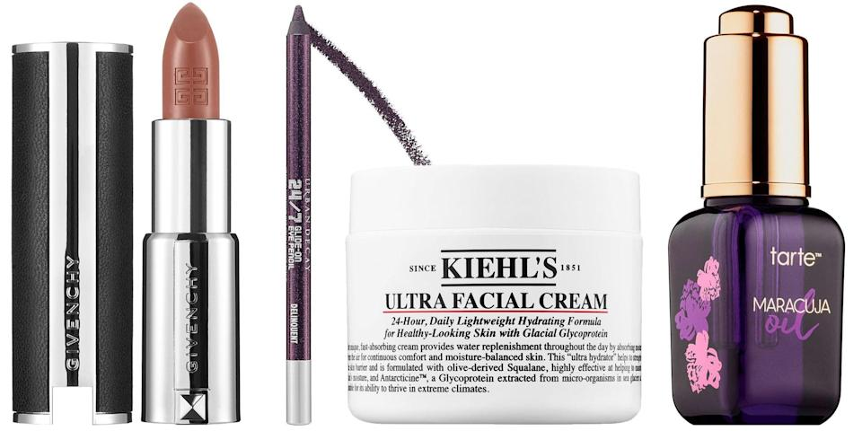 """<p class=""""body-dropcap"""">The leaves are falling, we've traded out summer sweats for winter sweats, and the <a href=""""https://www.sephora.com/beauty/black-friday"""" rel=""""nofollow noopener"""" target=""""_blank"""" data-ylk=""""slk:Sephora Black Friday"""" class=""""link rapid-noclick-resp"""">Sephora Black Friday</a> sale is growing nearer by the day. According to Sephora, the beauty retailer will offer 50% off select products for Black Friday and Cyber Monday 2020. This will include finds from Kiehl's Since 1851, Urban Decay, and Tarte. Anyone antsy for more details can download the Sephora app now, as well—it'll allow you to """"unwrap the hottest deals early"""" once November 19 rolls around, per Sephora's website. </p><p>That won't stop us from speculating what else might be included until then. Last year featured an array of discounts for the Sephora Cyber Week sale, which only accented the one-day-only Cyber Monday event. Keep an eye on the Sephora app for more information come November 19, and scroll down for some of the skin care and makeup products we hope are included in this year's sale. </p>"""