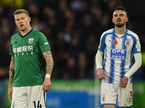 James McClean chooses not to wear a poppy (AFP)