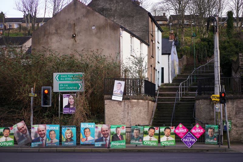 Ireland's dominant centre-right parties to continue post-election talks