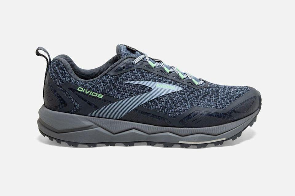 brooks divide, brooks, brooks running, brooks outdoor, outdoor shoes, hiking shoes, trail runners