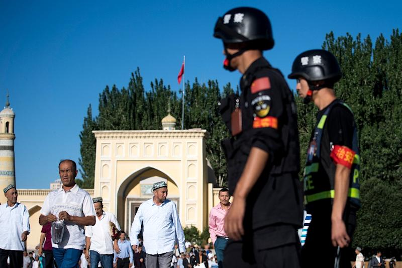 China region gives legal basis for Muslim internment camps