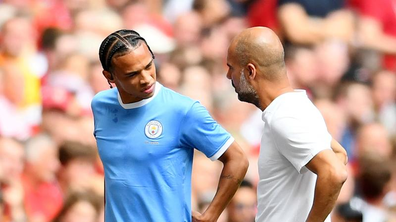 Sane claims 'good' relationship with Guardiola after Bayern switch
