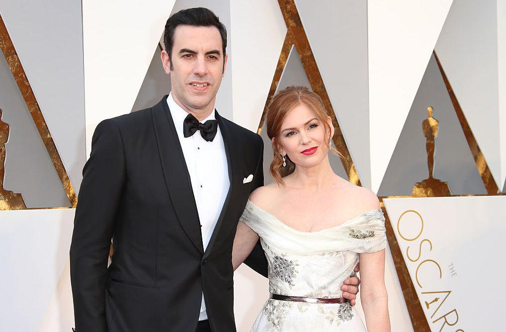 <p>Isla Fisher and husband Sacha Baron Cohen are famously media-shy so it came as no surprise that the couple decided to keep details of their third child under wraps. The media circuit only learned of Isla's third pregnancy after she pulled out of film, <i>Now You See Me 2</i>. And the birth of their child was confirmed when eagle-eyed journalists spotted that she was no longer sporting a bump at a function back in April, 2015. <em>[Photo: Getty]</em> </p>