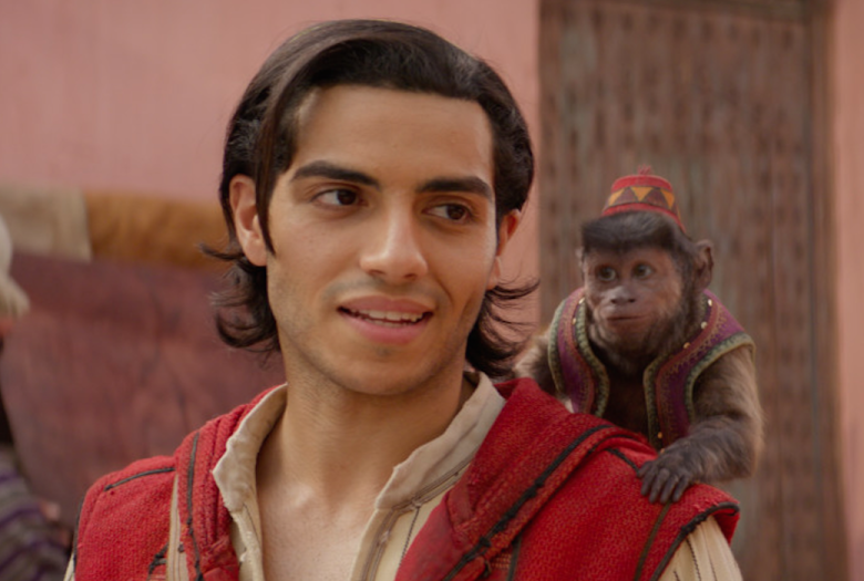 Mena Massoud had no auditions since Aladdin