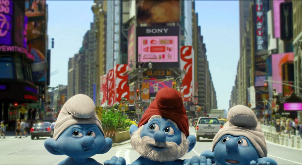 """<a href=""""http://movies.yahoo.com/movie/1810033015/info"""">THE SMURFS</a>  Release Date: August 3, 2011  Starring: <a href=""""http://movies.yahoo.com/movie/contributor/1800019189"""">Hank Azaria</a>, <a href=""""http://movies.yahoo.com/movie/contributor/1800024845"""">Neil Patrick Harris</a> and <a href=""""http://movies.yahoo.com/movie/contributor/1804514019"""">Sofia Vergara</a>"""