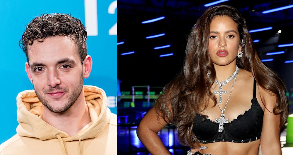 C Tangana critica públicamente a Rosalía  (Photo by Juan Naharro Gimenez/Getty Images - erritt Clark/Getty Images for Savage X Fenty Show Vol. 2 Presented by Amazon Prime Video)