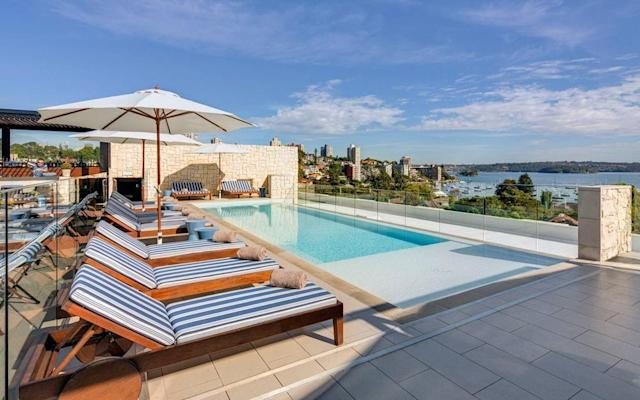 Facilities at the InterContinental Sydney Double Bay include a stylish rooftop lap pool boasting magnificent views