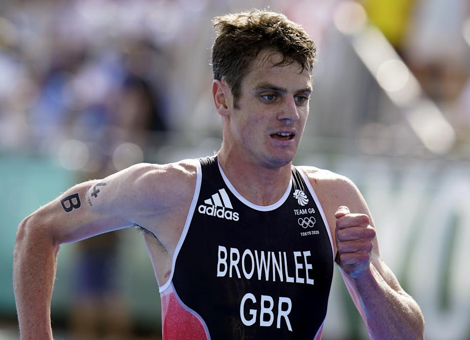 Jonny Brownlee is an Olympic gold medallist at last (Danny Lawson/PA) (PA Wire)