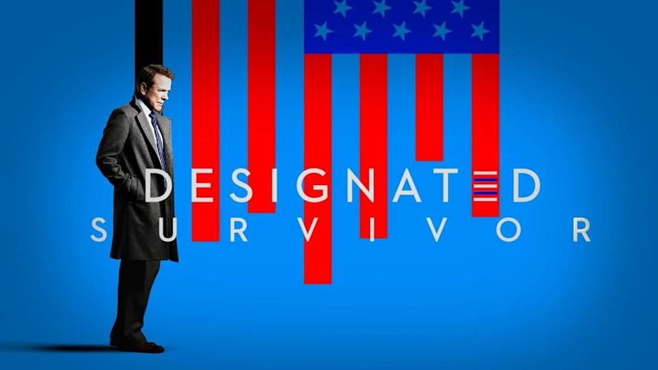 Kiefer Sutherland in Designated Survivor (Netflix)