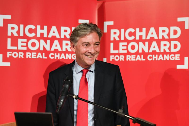 <strong>Richard Leonard MSP launches his campaign for the Scottish Labour Party leadership</strong> (Jeff J Mitchell via Getty Images)