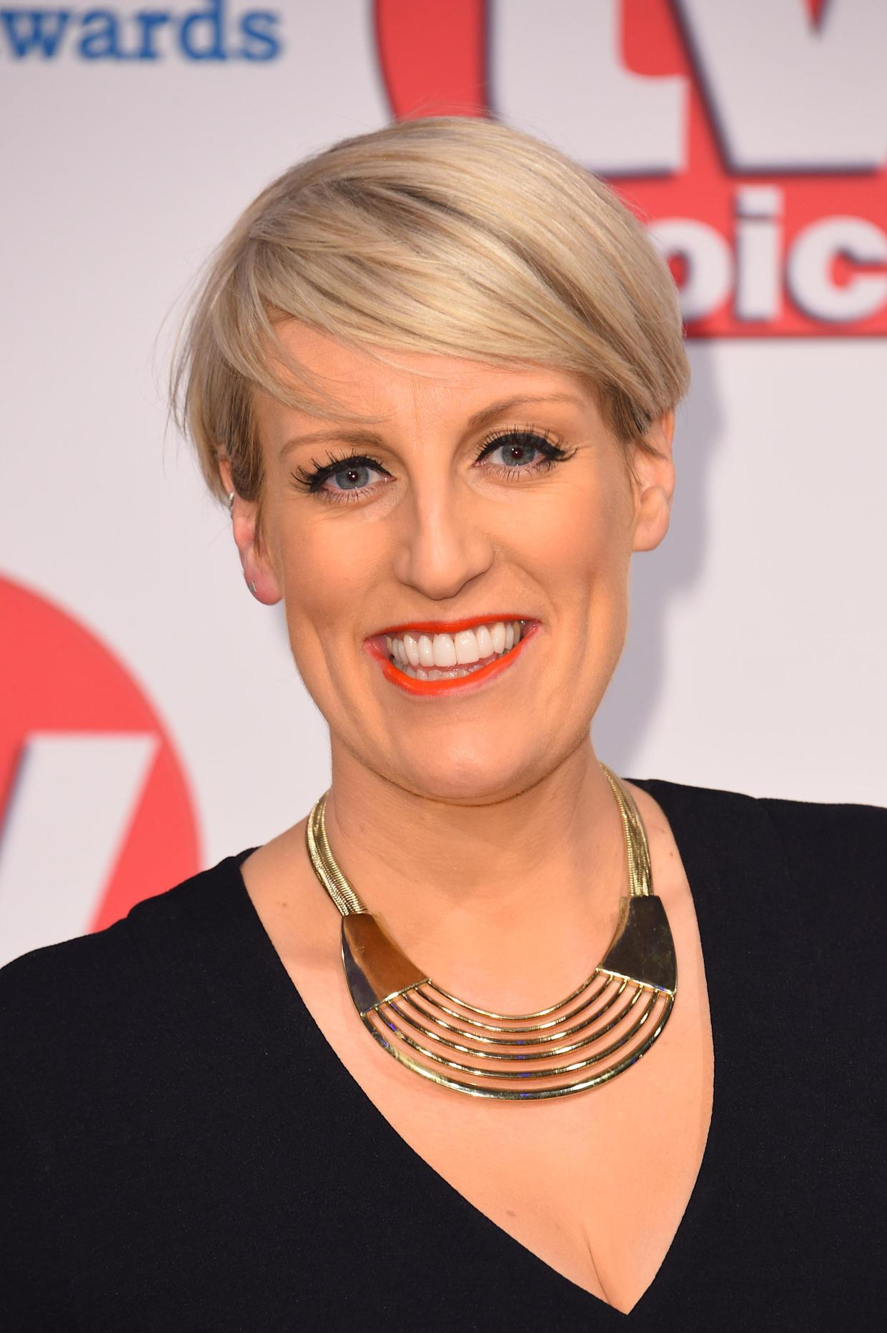 Steph McGovern attending the TV Choice Awards held at the Hilton Hotel, Park Lane, London.