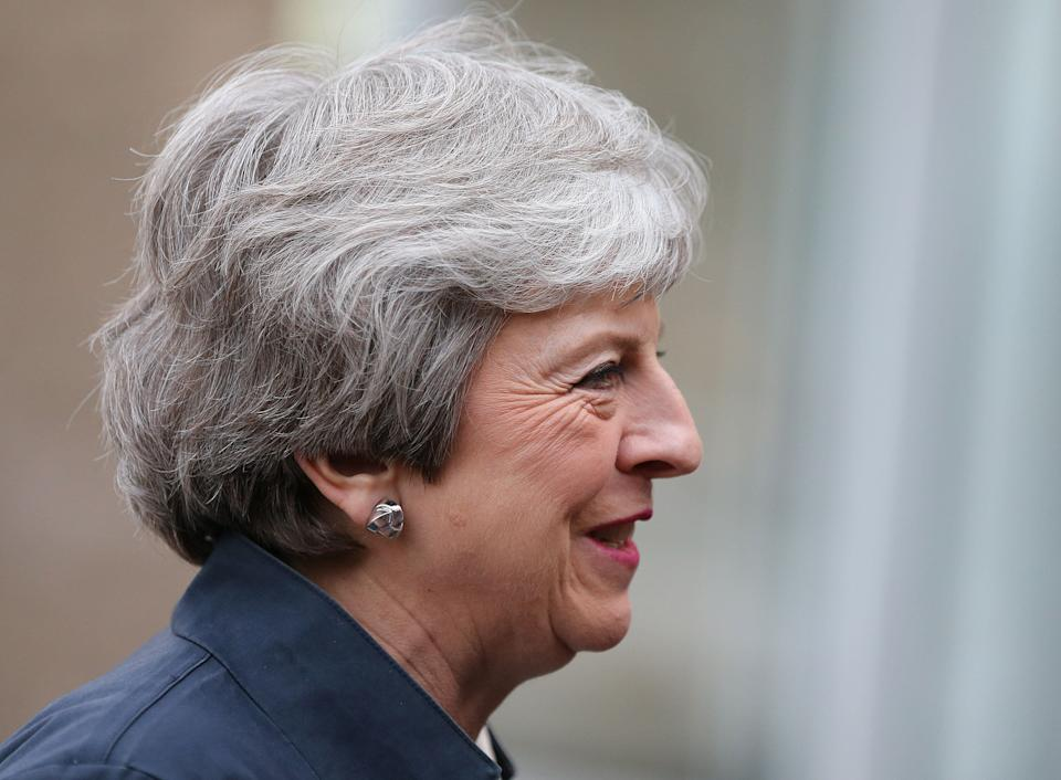 Prime minister Theresa May could be losing her party's vote to the Brexit Party (Picture: PA)