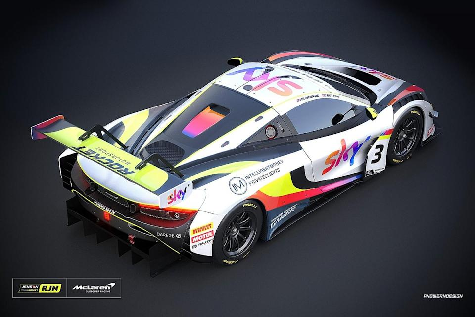 Button to race in British GT at Silverstone