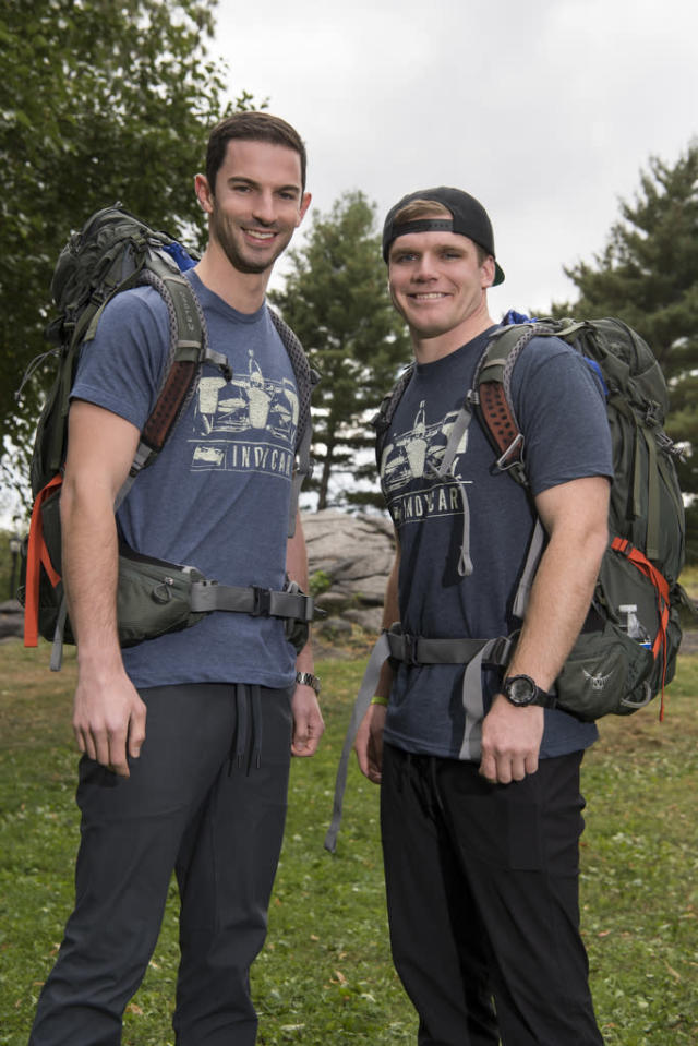 <p>Indy race car drivers from Indianapolis, Ind. <br><br>(Photo: John Paul Filo/CBS) </p>