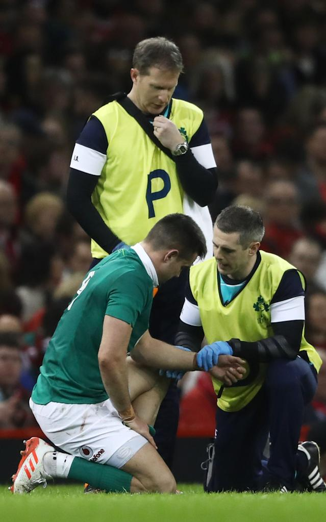 <span>Conor Murray has been passed fit</span> <span>Credit: GETTY IMAGES </span>