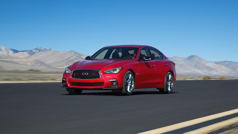 2018 Infiniti Q50 Set to Debut With New ProPilot Self-Driving System