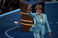 <p>Pelosi at the Democratic National Convention.</p>