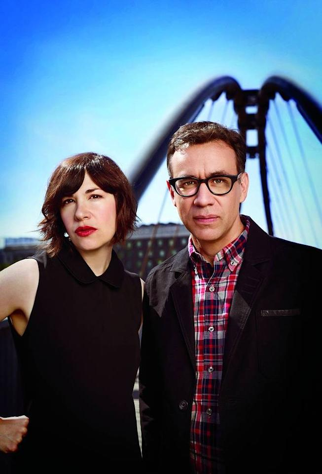 """Carrie Brownstein and Fred Armisen in Season 3 of IFC's """"Portlandia."""""""