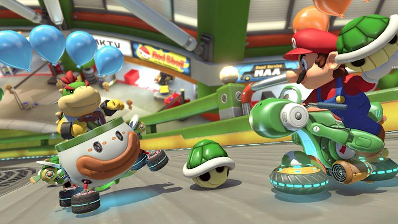 Mario Kart 8 Deluxe Review The Definitive Version Of One