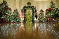 <p>Yet another thing that's more in the First Lady's territory. No matter who chooses the decorations, they can dip into a $100,000 fund paid for by the government for it. </p>