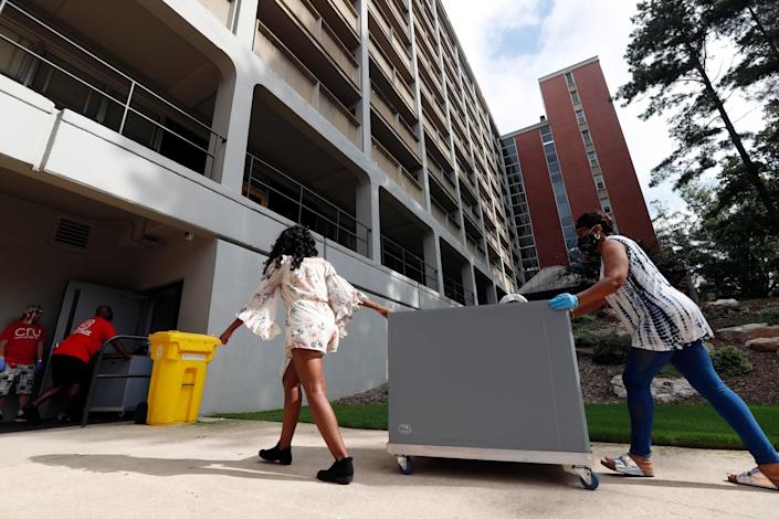 2020 Census-Group Facilities (Copyright 2020 The Associated Press. All rights reserved)