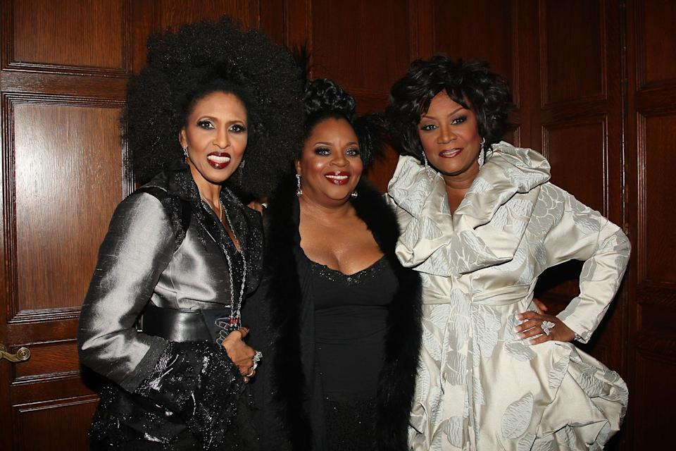 """Sarah Dash, center, one of the co-founders of diva rock group Labelle known for original hit """"Lady Marmalade,"""" has died. She was 76."""