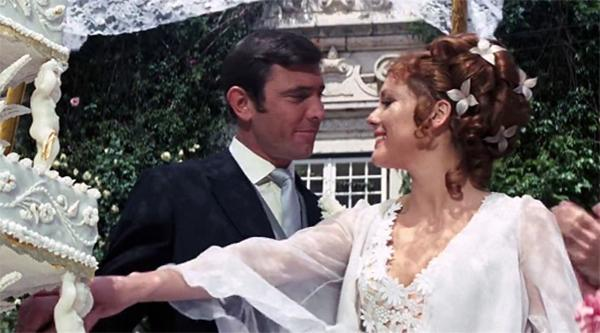 James Bond previously married Tracy Draco in On Her Majesty's Secret Service – Credit: MGM