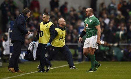 FILE PHOTO - Rugby Union - Ireland v England - Six Nations Championship - Aviva Stadium, Dublin, Republic of Ireland - 18/3/17 Ireland's Niall Scannell comes on for Rory Best after he sustained a head injury Reuters / Clodagh Kilcoyne Livepic