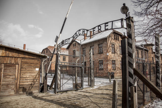 Das Konzentrationslager in Auschwitz (Bild: Getty Images)