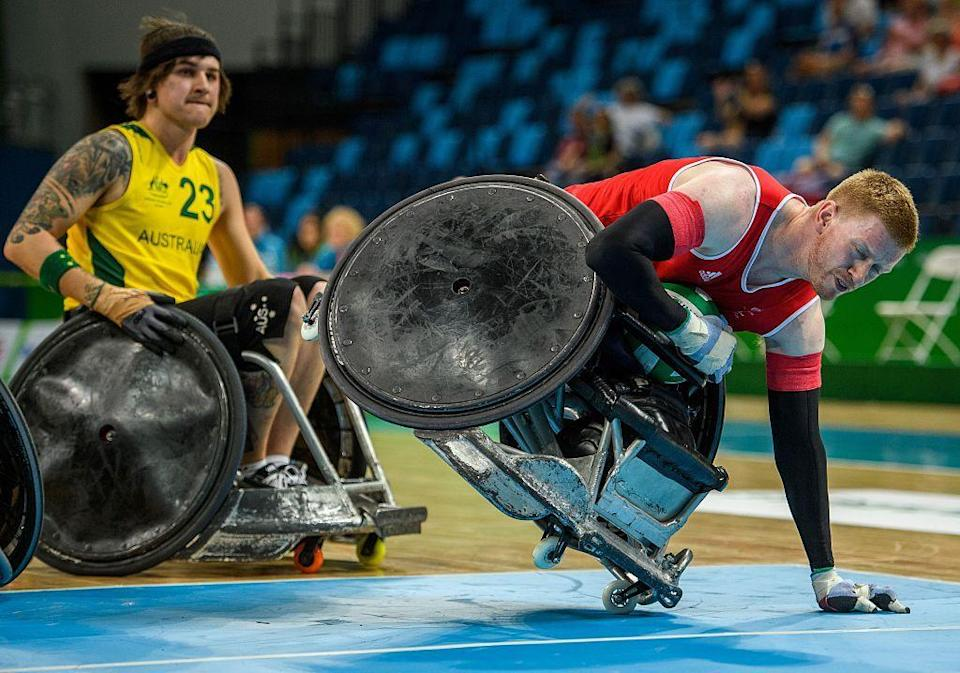 <p>Prior to taking up the gentle name wheelchair rugby, this sport was known as 'murderball', which should give you a pretty good idea about what goes on in a standard game.</p><p>Tune into this high-octane sport and you can expect to see wheelchairs smashing into each other, while mixed-gender teams of four attempt to get the ball over their opponents line. Sounds fun, right?</p>