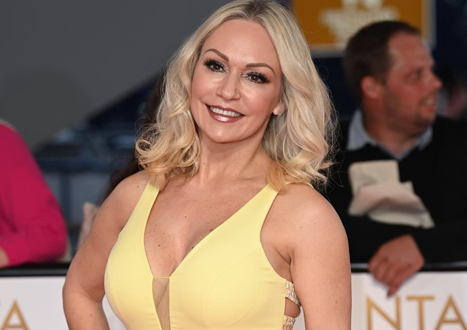 Kristina Rihanoff has said she would not ask her dance partner about their vaccination status. (Getty Images)