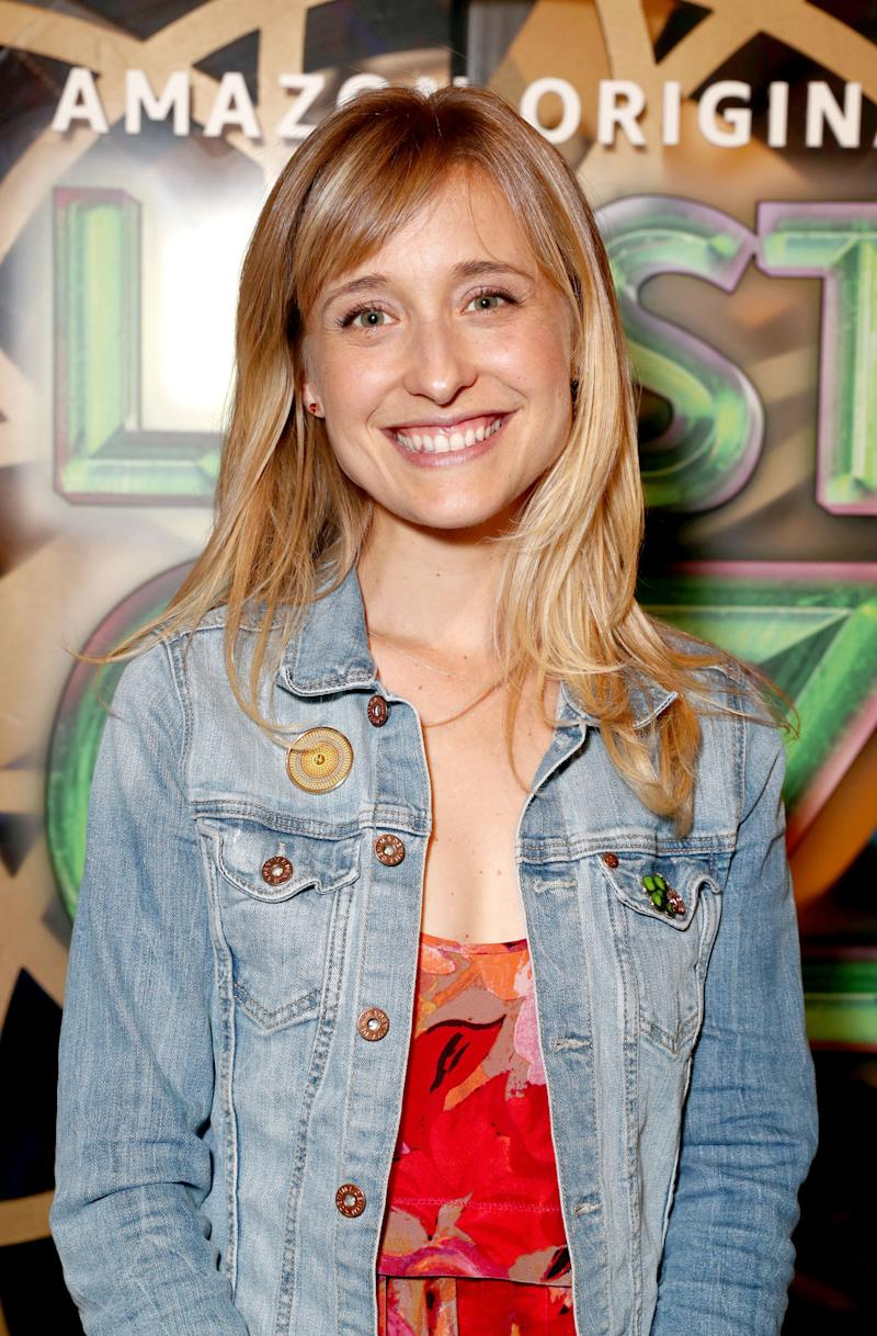 Watch Allison Mack video