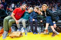"<p>As a mom of three on-and-off camera, the <em>Modern Family</em> matriarch is no stranger to the daily ins-and-outs of raising adolescents. The actress shares son Oliver, 13, and twins John and Gustav, 11, with ex-husband Scott Phillips.</p> <p>""I grew up in a family of all girls so this is karmatic justice for torturing my father for so long,"" she <a href=""https://people.com/parents/julie-bowen-brood-of-boys-is-the-best-adventure/"" rel=""nofollow noopener"" target=""_blank"" data-ylk=""slk:joked to PEOPLE"" class=""link rapid-noclick-resp"">joked to PEOPLE</a> in 2010. ""Now I'm the only female in the house of four males. This is just a taste of what he had to suffer for a long time.""</p>"